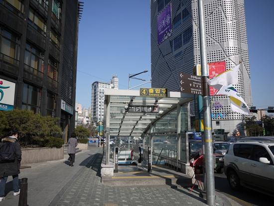 韓国:ソウル:板門店:足跡ノー...